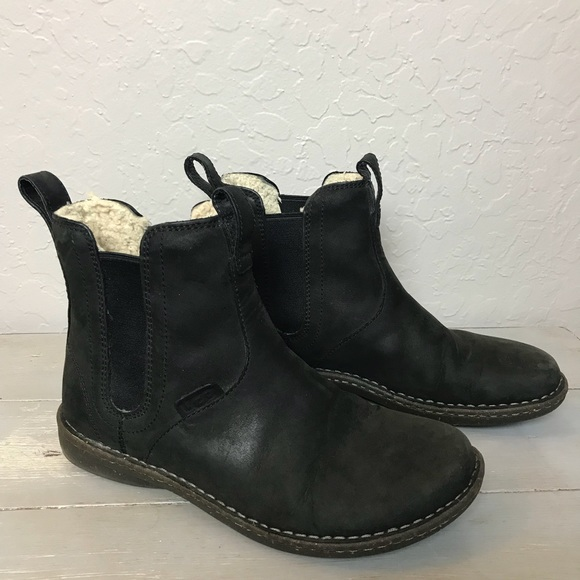 9eaf37be5a1 UGG Haskell Boots in Black - Men's Size 9